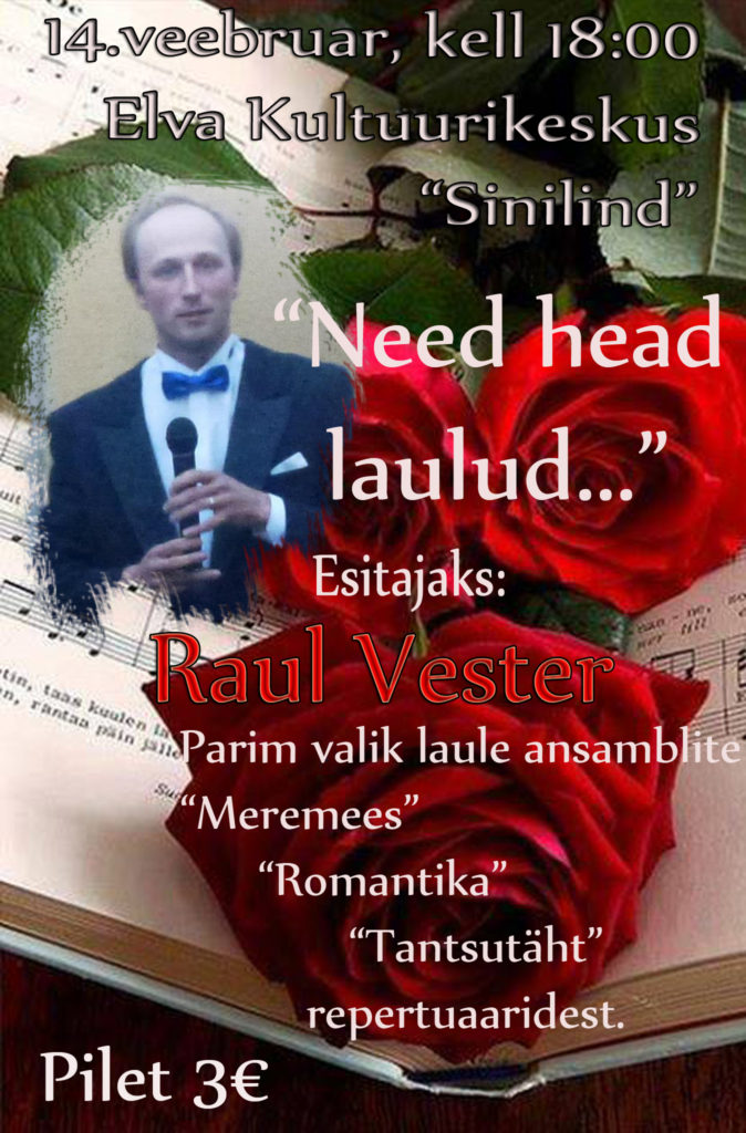 Need head laulud, raul vester